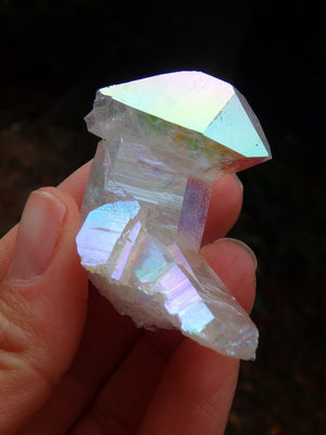 Exceptional Opal Glow Angel Aura Quartz Cluster 2 - Earth Family Crystals