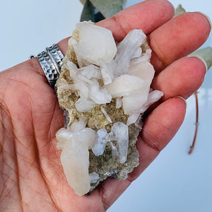 Unique Raw Heulandite Cluster from India