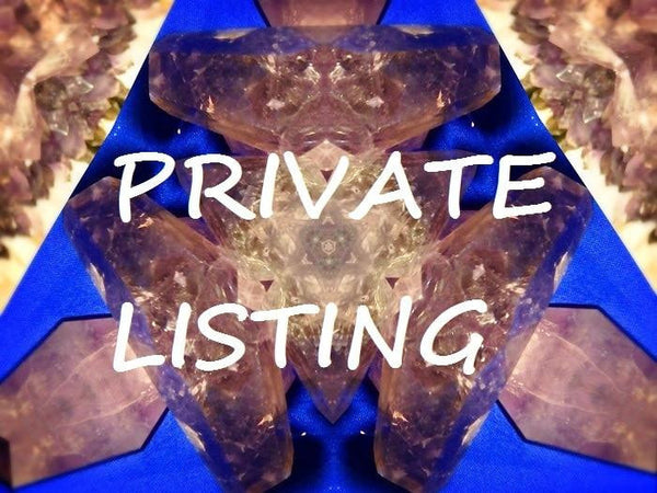 **PRIVATE LISTING For Addahia - Earth Family Crystals