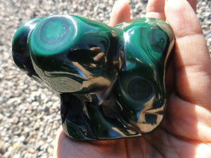 Large Divine Green MALACHITE CRYSTAL - Earth Family Crystals