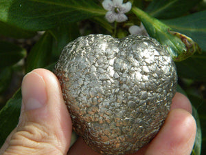 Beautiful NATURAL PYRITE * - Earth Family Crystals