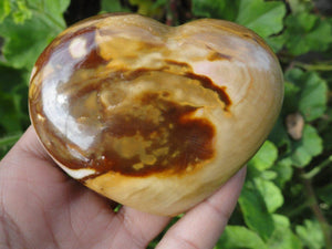 Earthy POLYCHROME JASPER HEART~ The Stone of Exuberance, Physical Energy, Vitality* - Earth Family Crystals