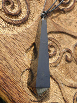 EMF Protective Black SHUNGITE NECKLACE* - Earth Family Crystals