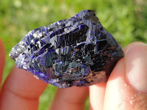 Mesmerizing Fine Blue Ray Rare AZURITE CRYSTAL* - Earth Family Crystals