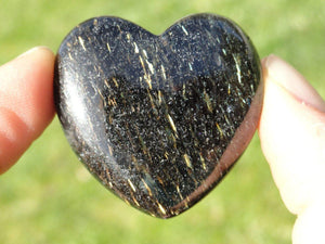 Mysterious NUUMMITE HEART~Discovery, Protection,Opportunities* - Earth Family Crystals