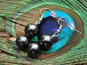 EMF Protective Russian SHUNGITE EARRINGS* - Earth Family Crystals