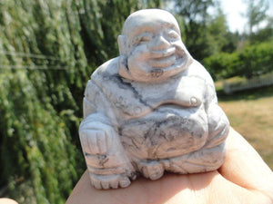 HOWLITE BUDDHA CARVING* - Earth Family Crystals