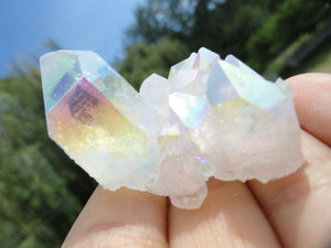 RESERVED For DeathBecomesMe* Gorgeous Glowing ANGEL AURA Cluster* Hippie Reiki New age Magic - Earth Family Crystals