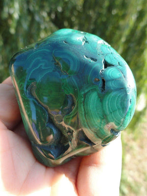 Striking Green MALACHITE Specimen* - Earth Family Crystals