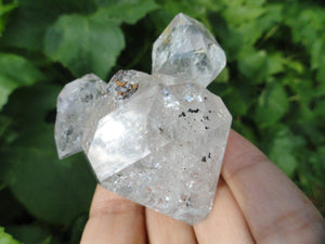Gorgeous NY HERKIMER DIAMOND CLUSTER With Inter-grown Herks* - Earth Family Crystals