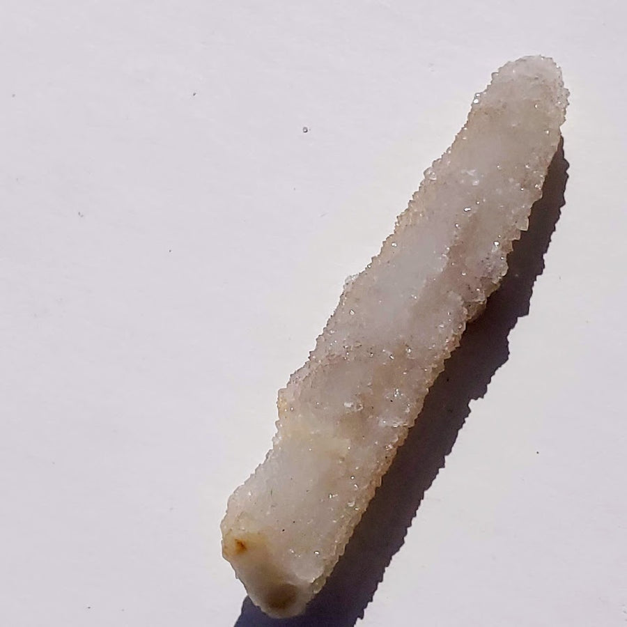 Twinkling White Spirit Quartz Point from South Africa - Earth Family Crystals