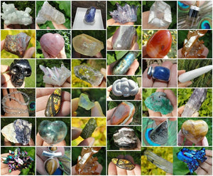PRIVATE LISTING For Krystle - Earth Family Crystals