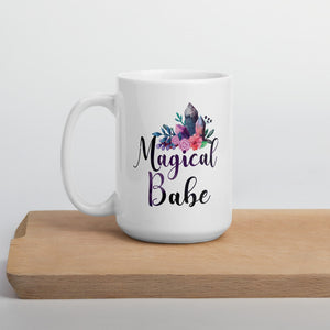 Magical Babe White Mug