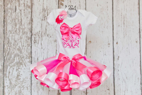 First Birthday Dress Pink