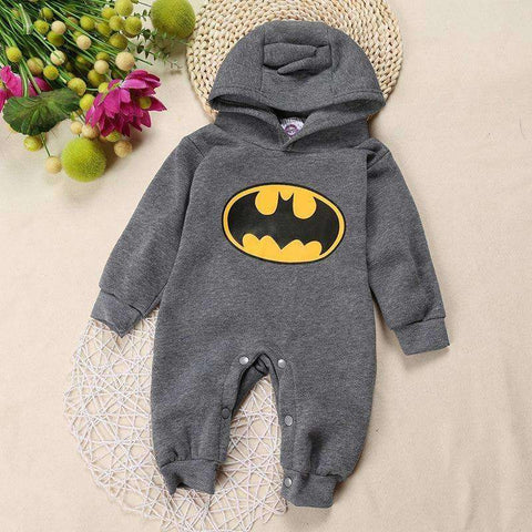 Batman Fleece Romper