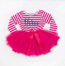 Load image into Gallery viewer, Birthday Little Girl Dress