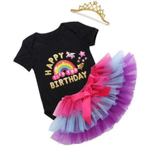 Load image into Gallery viewer, Birthday Party Outfits Onesies Sets