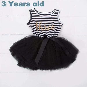 Black Happy Birthday Outfits For Toddlers