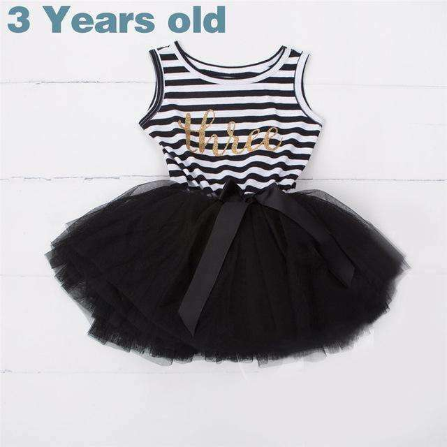 Load Image Into Gallery Viewer Black Happy Birthday Outfits For Toddlers