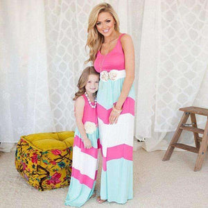 Cute Mother and Daughter Fashion
