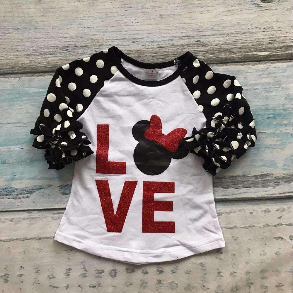 """Love"" Minnie Mouse T-shirt"