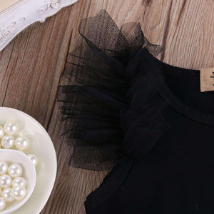 """My Little Black Dress"" Onesie"