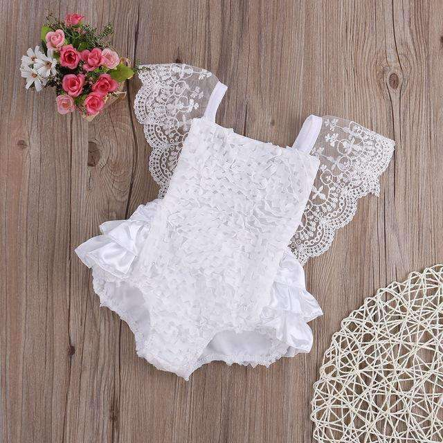 Cotton Lace Rompers