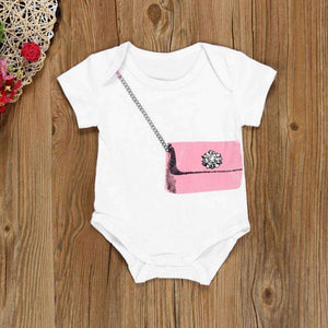 Baby Boys Girls Romper 2017 new Newborn Infant Baby Boy Girl Wallet Pattern Romper Jumpsuit Outfits Clothes