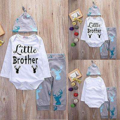 Little Brother Rompers