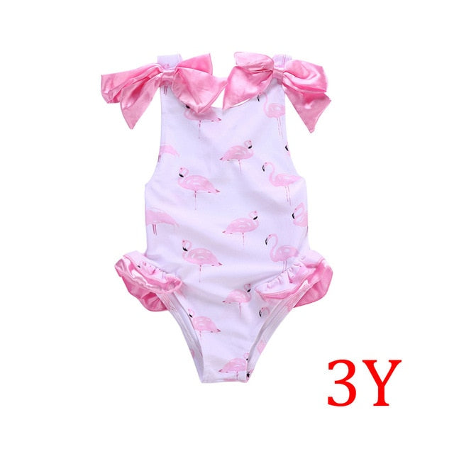 Flamingos Tutu Swimsuit