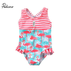 Summer  Flamingo Swimsuit