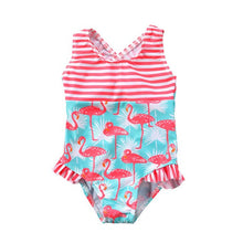 Load image into Gallery viewer, Summer  Flamingo Swimsuit
