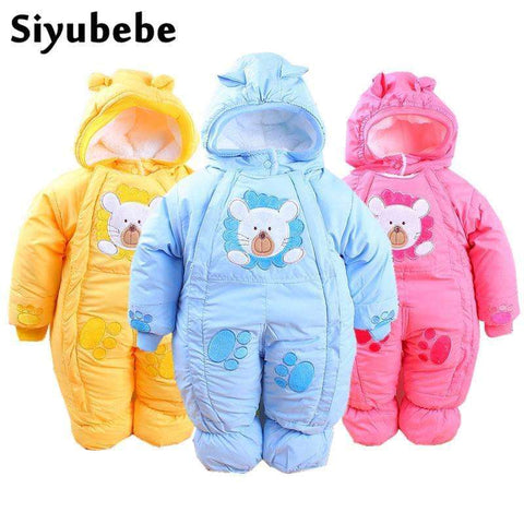 Siyubebe Winter Rompers Fleece