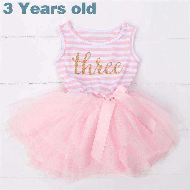 Toddler Girl 3rd Birthday Outfits