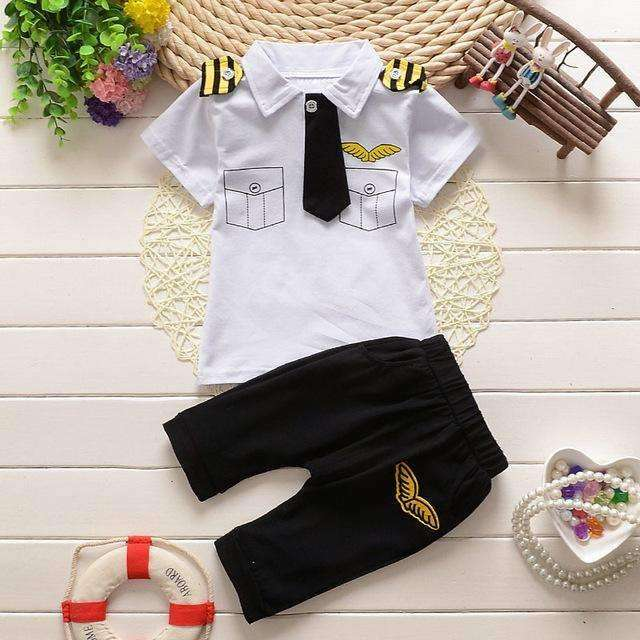 White Sailor Outfit Suits