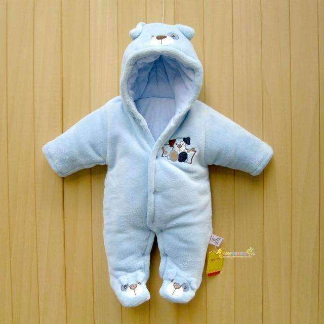 Winter Jumpsuit Cartoon Hooded