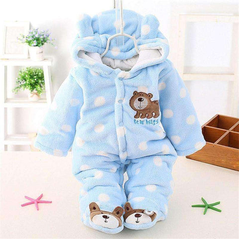 Winter Jumpsuit Cotton Padded