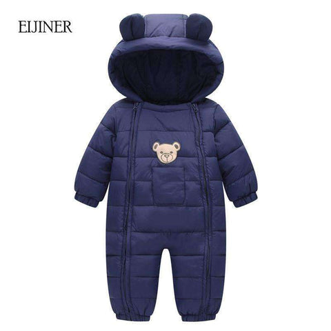 Winter Jumpsuit Hooded