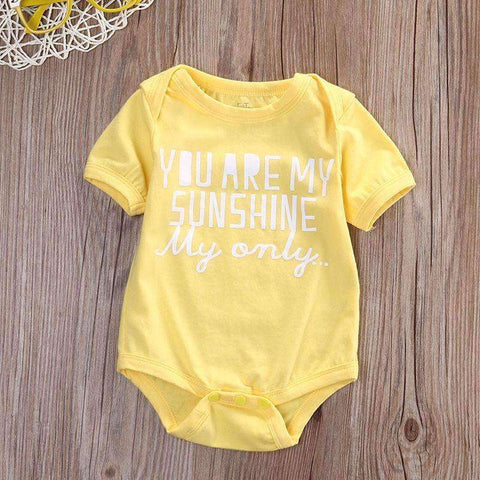 """You Are My Sunshine"" Onesie"
