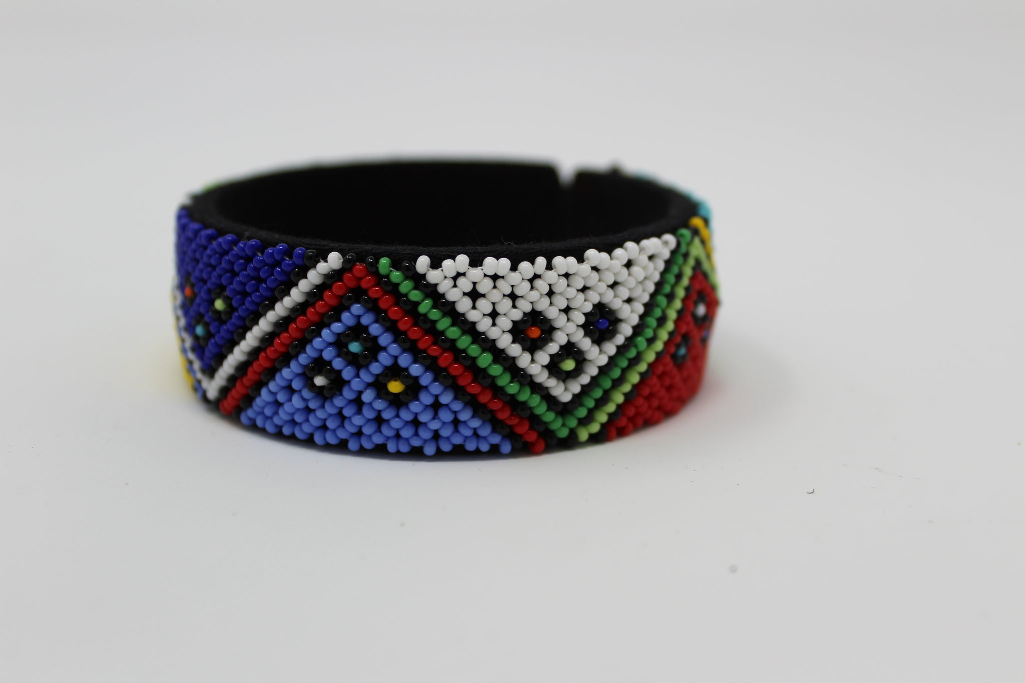 Beaded Bangle free size African jewelry  bracelet african bangles  handcrafted for women and girls in green purple red yellow multicolor design south african tradition jewelry