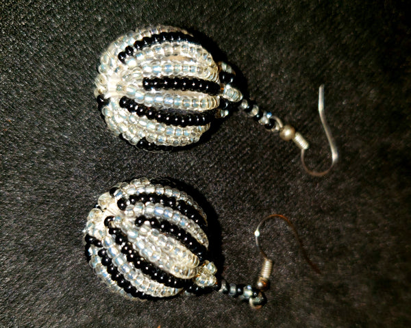 2019 Sparkling glass beaded earrings
