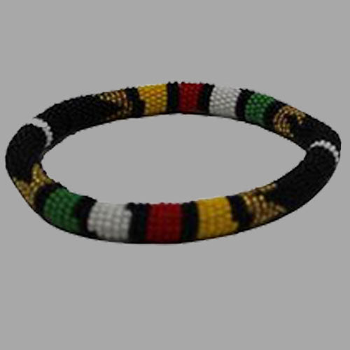 Traditional Beaded Bangle African jewelry Beaded Bangle Free Size  handcrafted for women and girls south african tradition jewelry