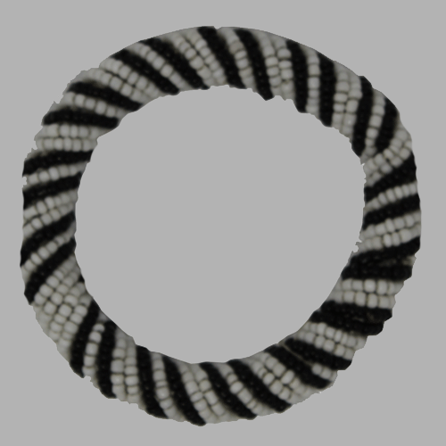 Bracelet White & Black Bracelet african bracelets  jewelry handcrafted for women and girls  south african tradition jewelry