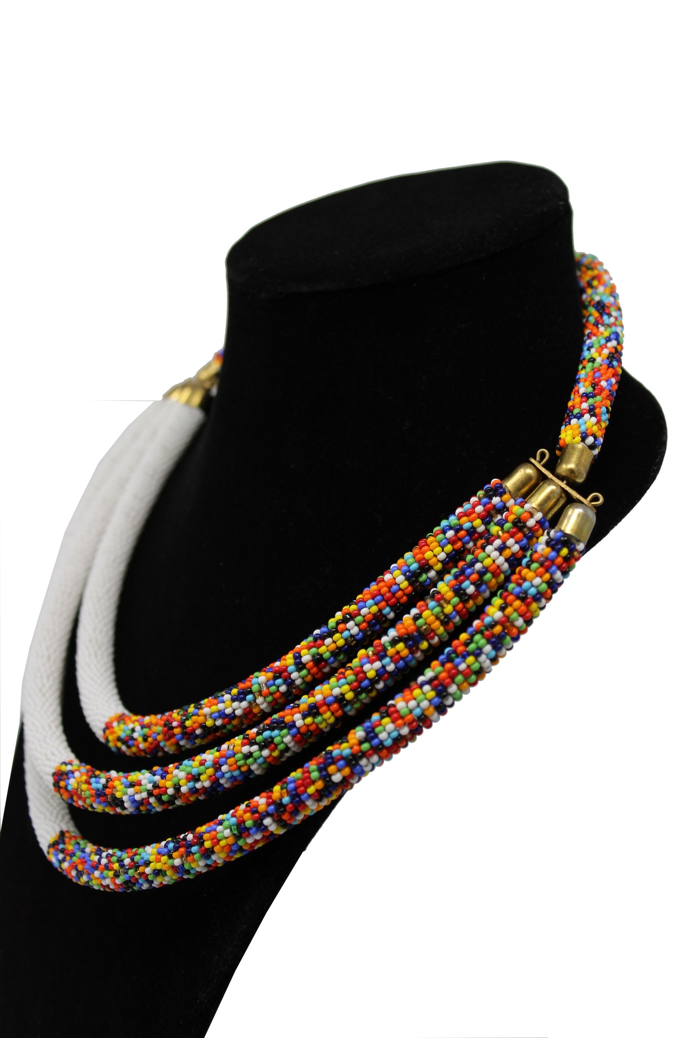 Contemporary Beaded Necklace  design beaded necklaces beading patterns for women and girls multicolor design south african tradition jewelry