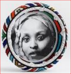 Thando Circle Picture Frame-Large handmade  african design home décor
