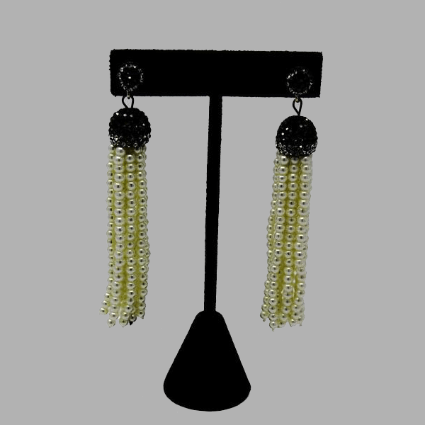 Green Hanging Earrings  drop handcrafted for women and girls south african tradition jewelry