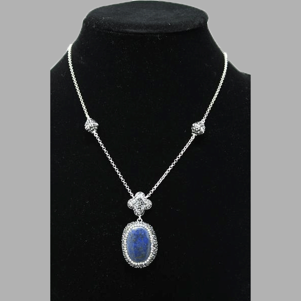Lapis silver stock Lapis Quartz blue and Earrings lazuli for women and girls south african tradition jewelry