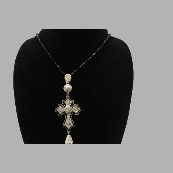 religious cross and earrings Jesus cross and earrings cross necklace silver  jewelry silver cross necklace