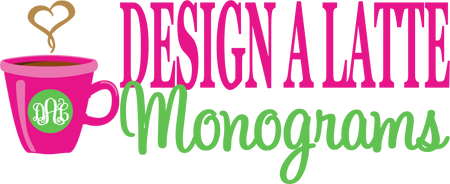 Design A Latte Monograms