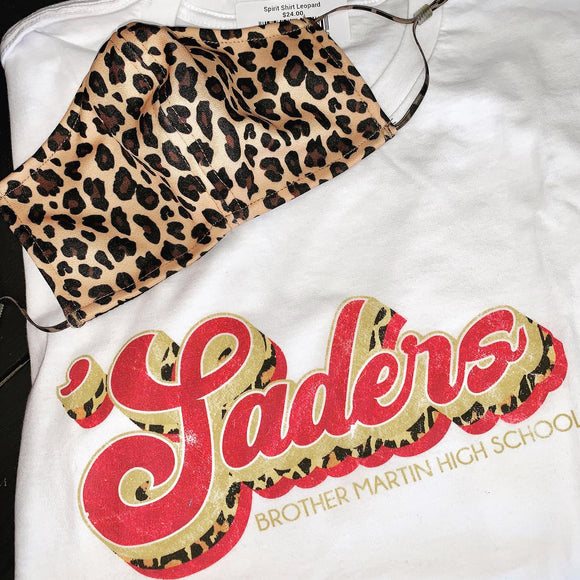 Saders leopard spirit shirt